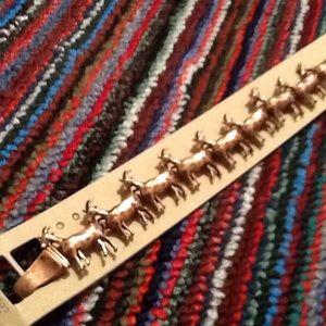Jewelry - Burnished Coppertone Goat Bracelet